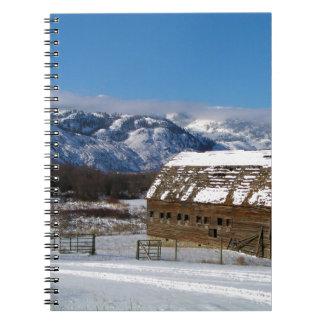 Old Homestead Barn Notebook