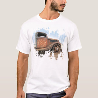Old Hot Rod Shop Truck T-shirt