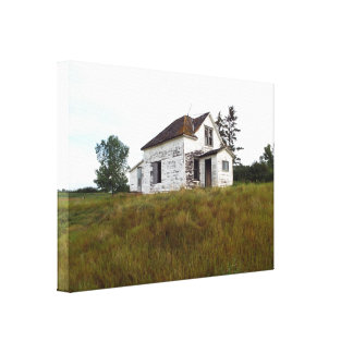Old House Canvas Canvas Print