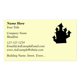 Old House, Five Towers. Pack Of Standard Business Cards