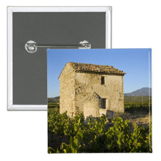 Old house in the Comtat Venaissin, Vaucluse, 15 Cm Square Badge