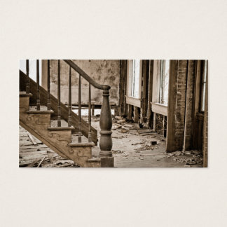 Old House Remodeling Restoration Business Card