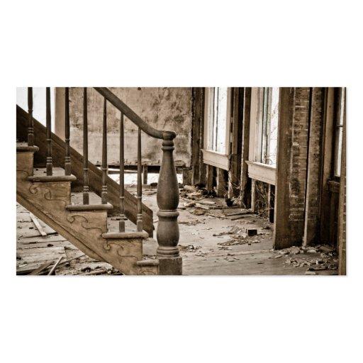 Old House Remodeling Restoration Business Card Template