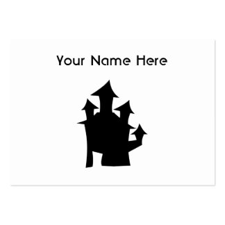 Old House with Towers. Pack Of Chubby Business Cards