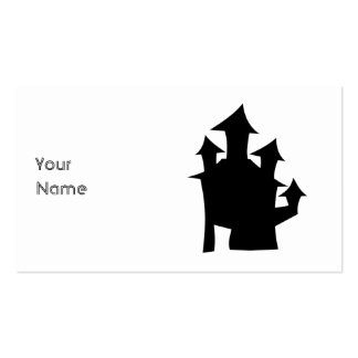 Old House with Towers. Pack Of Standard Business Cards