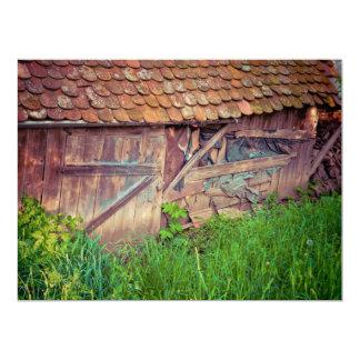 Old hut invite