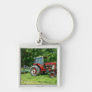 Old International Tractor Key Ring