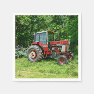Old International Tractor Paper Napkins