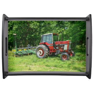 Old International Tractor Serving Tray