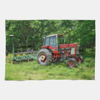 Old International Tractor Tea Towel