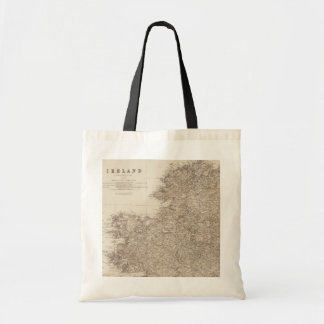 Old Ireland Map Tote Budget Tote Bag