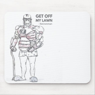 Old Ironman mousepad