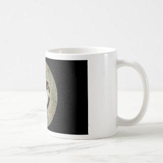 Old Jade Dragon Bi, arcahic Chinese Jade Coffee Mug