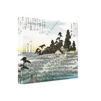 Old Japanese Art Print Canvas Print
