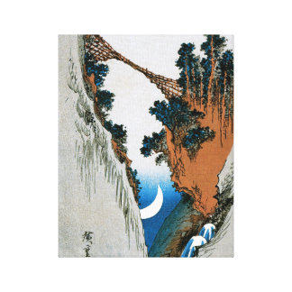 Old Japanese Print Gallery Wrap Canvas