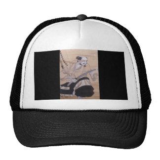 Old Japanese Samurai Painting Trucker Hat