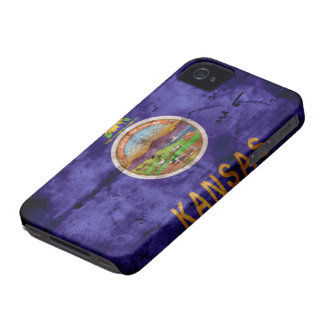 Old Kansan Flag iPhone 4 Cover