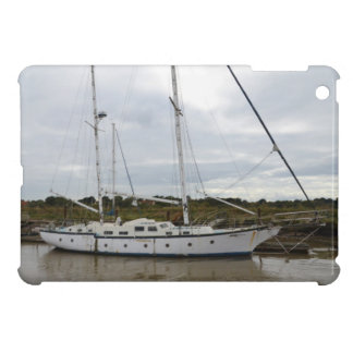 Old Ketch On The River Blythe Cover For The iPad Mini