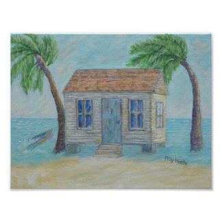 OLD KEY WEST CONCH HOUSE Poster