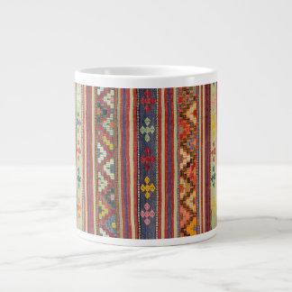old kilim large coffee mug