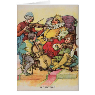 Old King Cole, Card