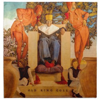 Old King Cole Napkin