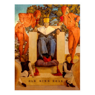 Old King Cole Postcard