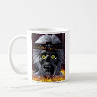 Old King Skull Coffee Mug