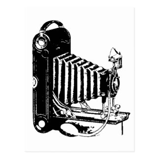 Old Kodak Camera Postcard