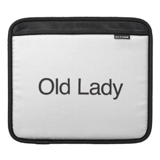Old Lady Sleeves For iPads