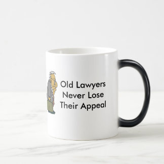 Old Lawyers Magic Mug