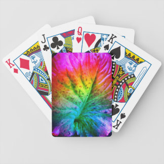 old leaf poker deck