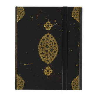 Old Leather And Gold Book Cover Original iPad Cases