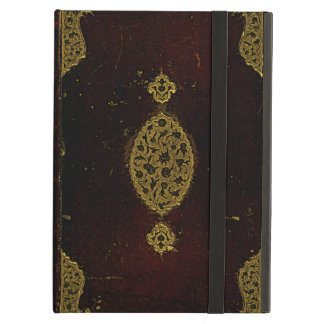 Old Leather And Gold Brown Original Book Cover