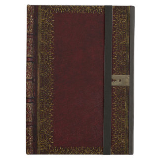 Old Leather And Lock Gilded Book Cover Cover For iPad Air