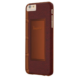 Old Leather Book Barely There iPhone 6 Plus Case