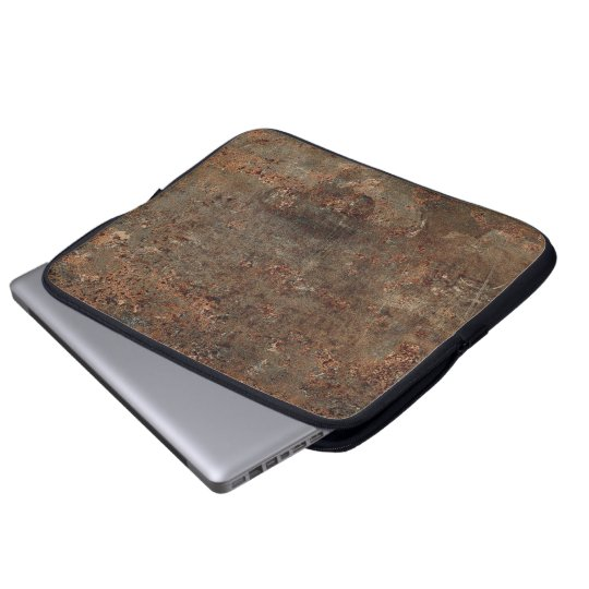 Old Leather Print Laptop Sleeve