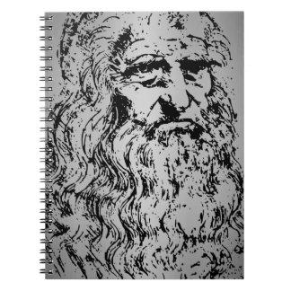 Old Leonardo Spiral Notebook