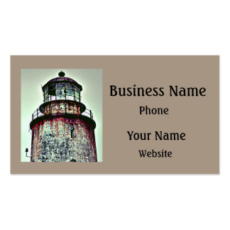 Old Lighthouse Pack Of Standard Business Cards