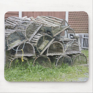 Old Lobster traps Mouse Pad