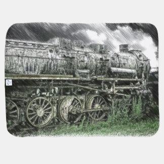 Old Locomotive Pramblankets