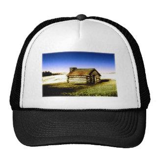 Old Log Cabin Mesh Hat