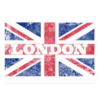 Old London flag Postcard