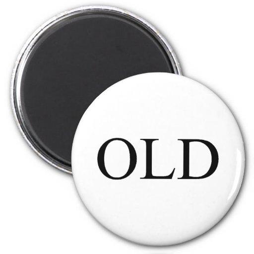 Old Fridge Magnet