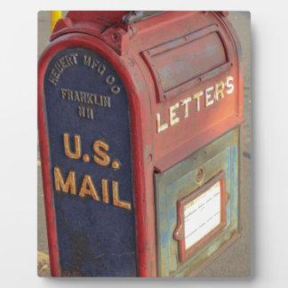 Old Mailbox Plaque