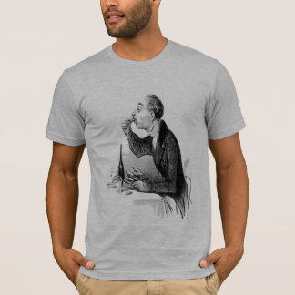 Old Man Eating Oysters T-Shirt