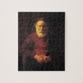 Old man in red - Rembrandt Jigsaw Puzzle