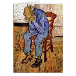 Old Man in Sorrow by Vincent van Gogh 1890 Greeting Card