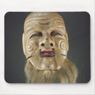 Old Man Mask, Noh Theatre Mouse Pad
