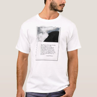 Old Man of the Mountain and Daniel Webster T-Shirt